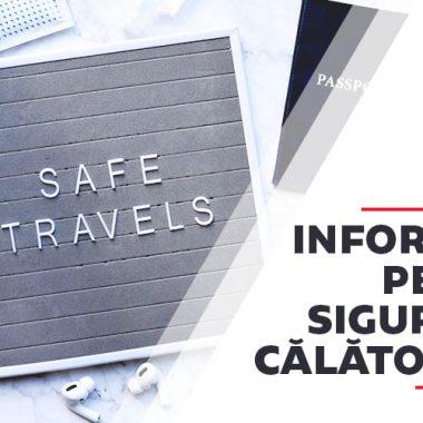 Informare pentru siguranta calatorilor